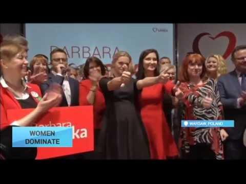 Poland Women in Politics: Female politicians take centre stage in Polish election