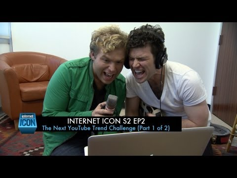 Internet Icon S2 Ep2 - The Next YouTube Trend Challenge (Part 1 of 2)