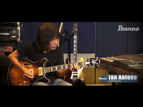 Ian Antono (God Bless) & Ibanez - part 2