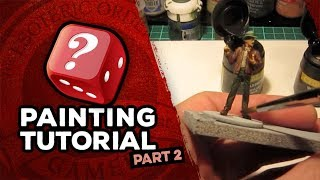 Mansions of Madness: Call of the Wild Miniatures Painting Tutorial: Part 2