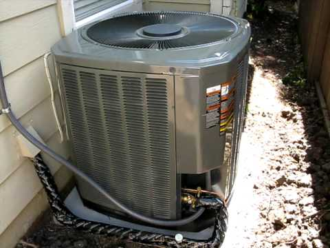Ac Problem Repair Trane Xr13 Fan Motor Capacitor