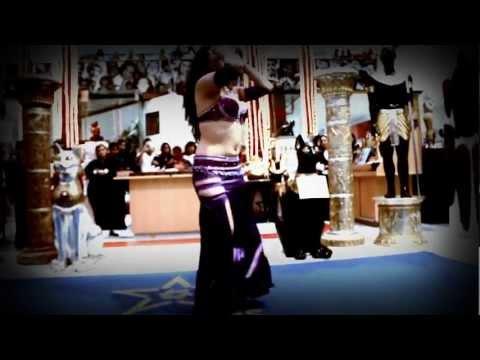 Lili Nahid  Danza Árabe. Belly dance Expo Egipto 2012  Plaza Galerías.  Grotesque Films HD
