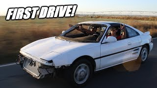 FIRST DRIVE In Our Twin Turbo Mr2!