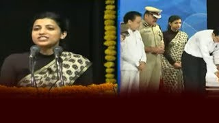 Amrapali Speech At Road Saftey Awareness Programme | Latest Telugu News | hmtv