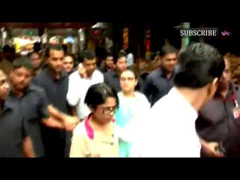 Rani Mukerji visits Mumbai's Lalbaugcha Raja