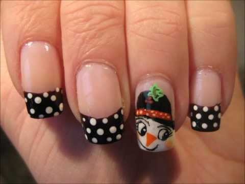 Nailart: Snowgirl