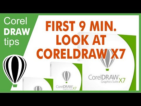 First 9 minutes look at CorelDraw X7