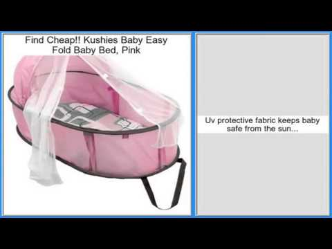 Kushies Baby Easy Fold Baby Bed, Pink Review