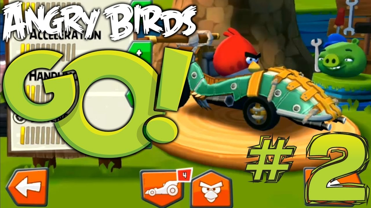 Angry Birds Race Car Toy