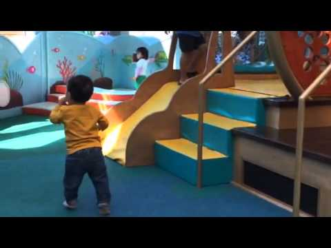 Oliver at Santa Monica place indoor playground part 2