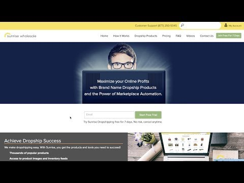 Dropship Company Sunrise Wholesale - Review