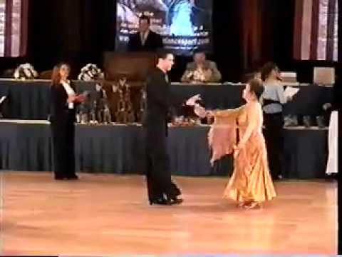 Manhattan Dancesport Competition - July 2006 Clip 2: Waltz, Tango, Foxtrot, Viennese Waltz