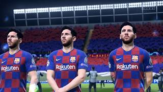 FIFA 20 Sim: A Team of Leo Messis vs. A Team of Virgil Van Dijks