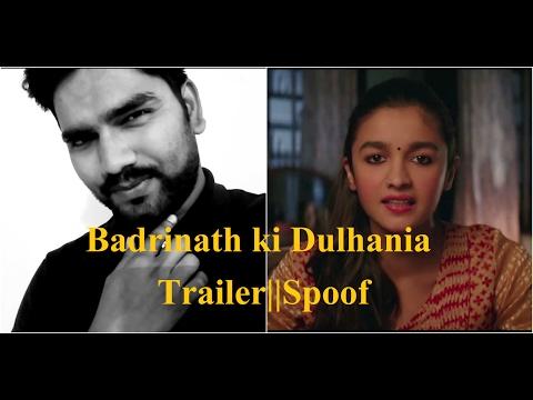 Badrinath ki Dulhania    Spoof    Varun Dhavan    Alia Bhatt