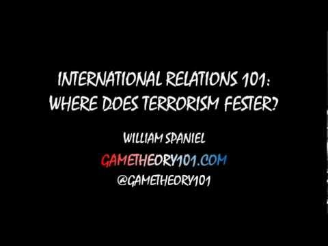 International Relations 101: Where Does Terrorism Fester?