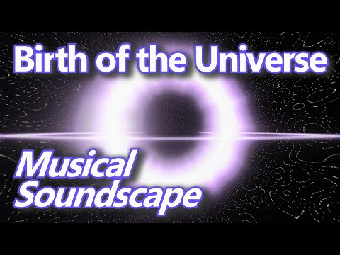 Birth of the Universe - Ten Hour Dark Screen Sound and Noisescape in B flat Major
