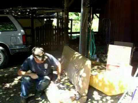 1/3 Redneck Upholstery Repair 1985 Chevy Silverado Half Ton Pickup Truck