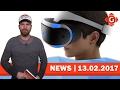 PlayStation VR: Bald neue Tracking-Methode? 3DS-Unterstützung bis 2018 | GW-NEWS