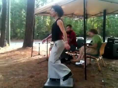 Buckdancing w Spence Family band - Dance All Night