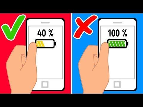 7 Ошибок, из-за Которых Телефон Садится Быстрее