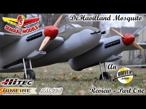Seagull Models DeHavilland Mosquito ARF review   Part One