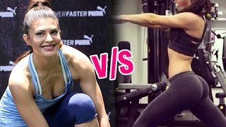 WATCH Alia Bhatt v/s Jacqueline Fernandez HOT Workout Video War