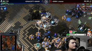 StarCraft 2 LOTV PVT Composition