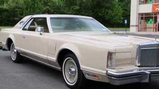 1979 Lincoln Mark V Cartier For Sale~2 Owners~45,000 Miles~Beautiful Car