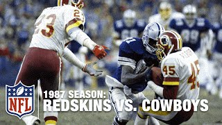 #7 Redskins Replacement Players Knock Off the Cowboys   NFL Films   Top 10 Upsets