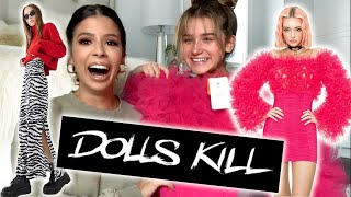 MY 16 YEAR NIECE BUYS MY OUTFITS FROM DOLLS KILL
