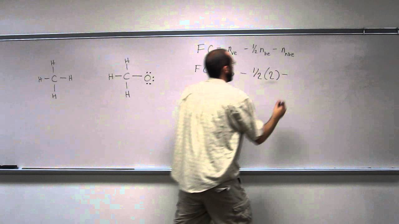 Determining Formal Charge - Methoxide Ion