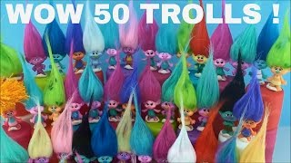 Dreamworks Trolls Toys Series 1 Series 2 Blind Bags Capsules 50 Surprises Opening Fun some Names