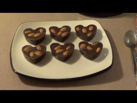 Healthy Valentine's Day Dark Chocolate Recipe