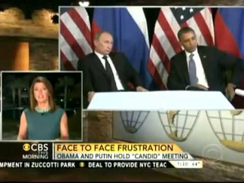 Putin Lectures Obama At Tense Meeting