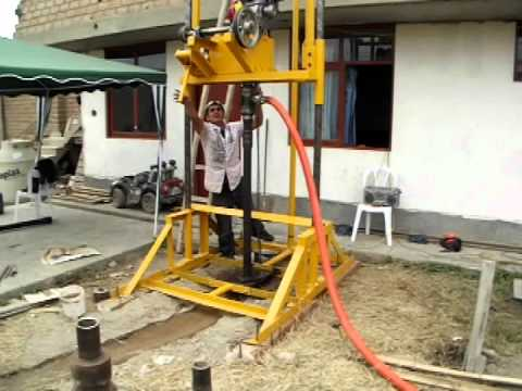 Perforadora de Pozos Tubulares de Agua - PT-60.wmv