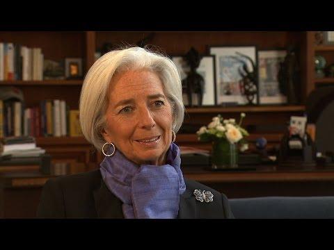 Lagarde: Russia feeling the effects of U.S., European sanctions