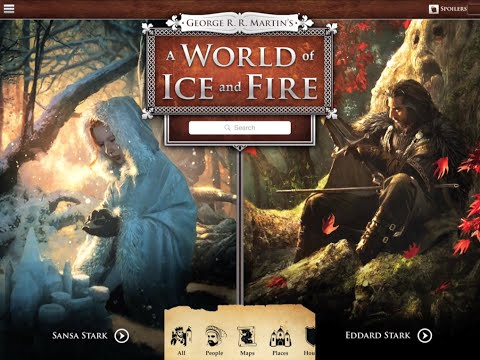 Official George R. R. Martin A WORLD OF ICE AND FIRE App