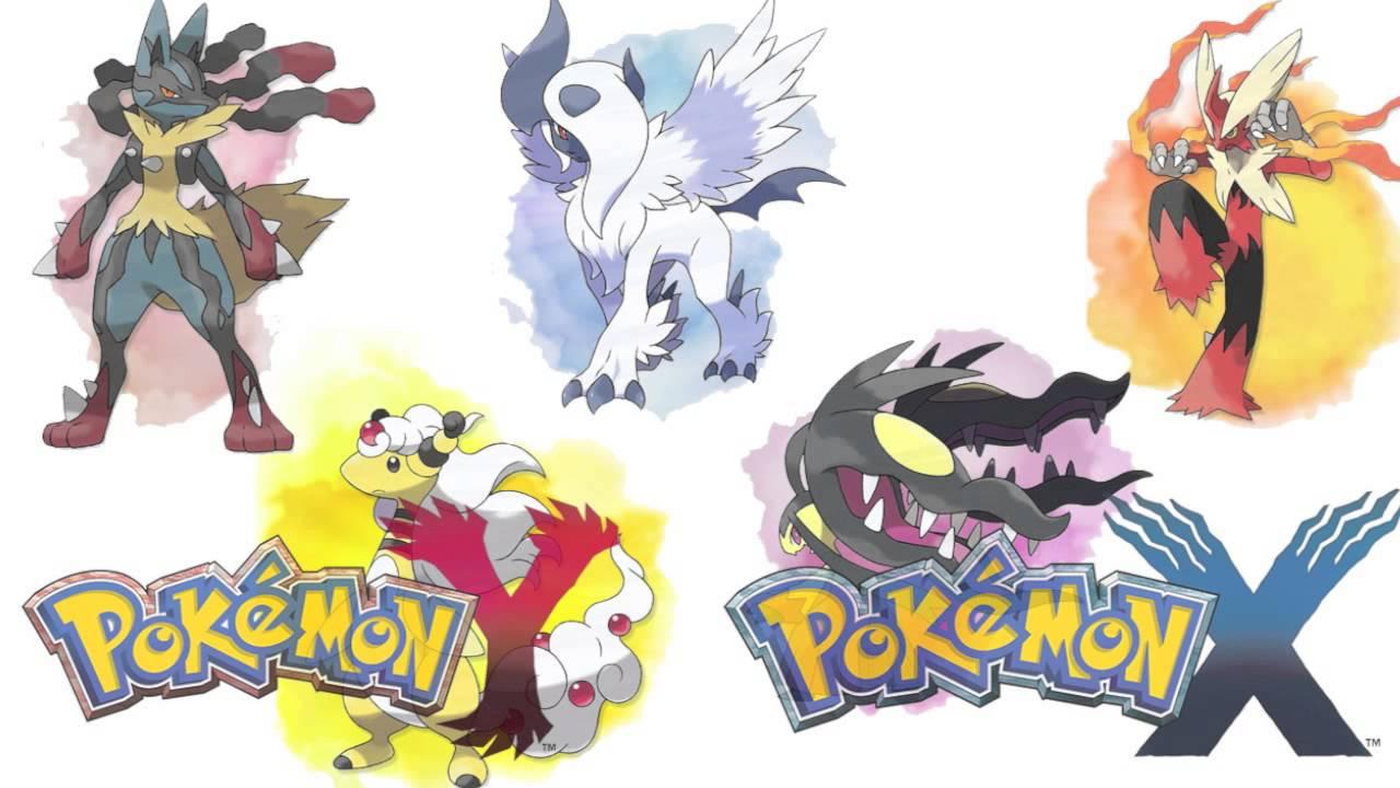 Pokemon Emerald Starter Pokemon Evolutions Pokemon X & Y Mega...
