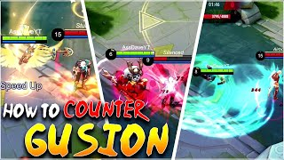 You will NEVER PICK GUSION after WATCHING THIS! How to counter Gusion in Mobile Legends