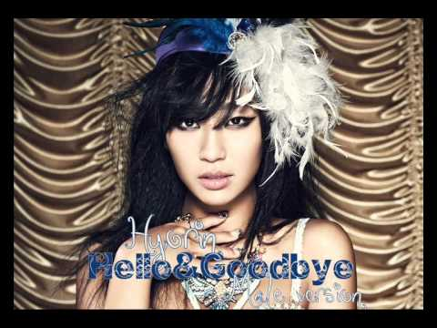 Hyorin (SISTAR) - Hello & Goodbye [Male Version]