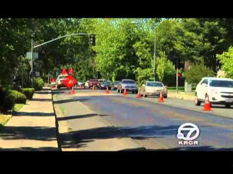 Road Construction Reduces Traffic on One of Chico's Busiest Streets