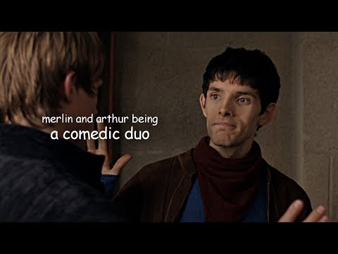 merlin and arthur being a comedic duo
