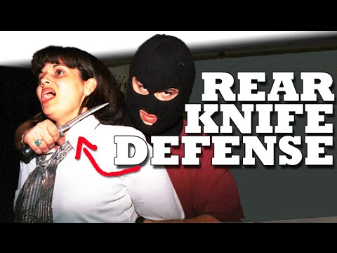 Knife Defense: How To Defend A Knife To The Throat video