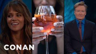 Halle Berry Thinks Conan Looks Like An Aperol Spritz  - CONAN on TBS