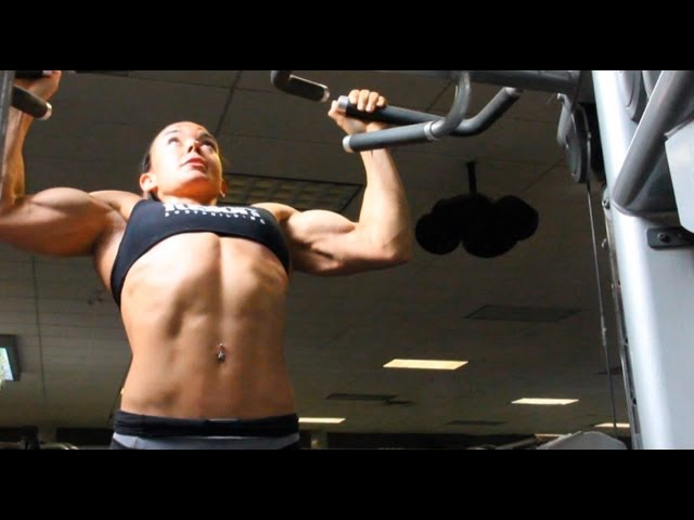 BEING A BODYBUILDER #30 • JODI BOAM'S BACK WORKOUT PRE-OLYMPIA 2012