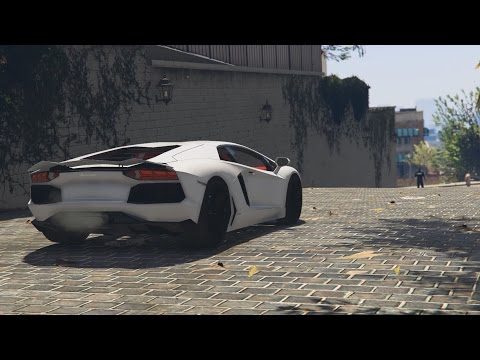 GTA 5 - Lamborghini Aventador Car Mod Showcase (Review and Installation Guide)