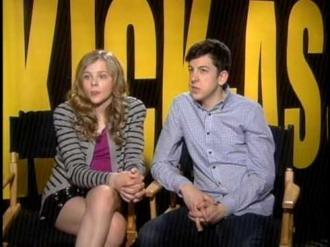 KickAss Christopher Mintz Plasse Chloe Moretz Interview 1