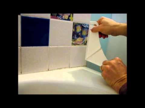How To Install A Shower And Bathtub Splash Guard Youtube