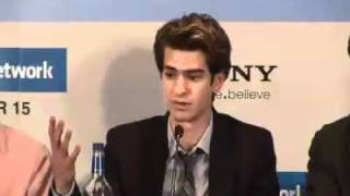 Press Conference: The Social Network / Jesse Eisenberg / Andrew Garfield / Justin Timberlake