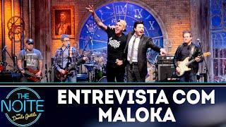 Entrevista com Maloka | The Noite (02/10/18)